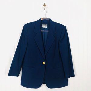 Vintage Savannah 100% Wool Blazer